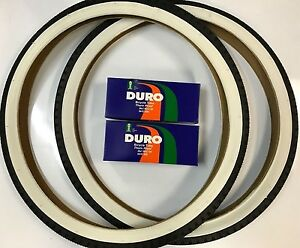 "2 Duro Bicycle Tubes 26/"" x 2.25-2.40-2.40-2.50/"" Schrader 33mm Stem BULK"