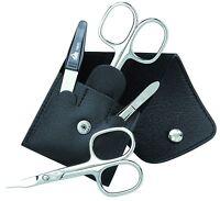 Becker-manicure Erbe Solingen 4 Piece Manicure Set Manicure Case For Men Leather