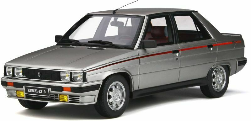 OTTO MOBILE 540 RENAULT 9 TURBO Ph1 resin Modelll car Silber 1984 Ltd Ed 1 18th