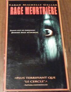 Rare-VHS-French-Movie-Rage-Meurtriere-Sam-Raimi-The-Grudge