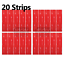 miniature 6 - 3M™ Double Sided Sticky Pad Strips, Strong Heavy Duty Mounting Adhesive Tape
