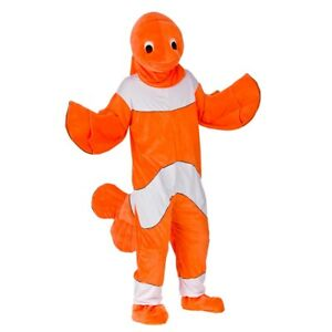Adult-DELUXE-CLOWN-FISH-Mascot-Finding-Nemo-Marlin-Film-Sea-Fancy-Dress-Costume