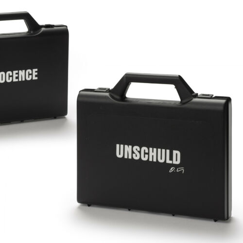 Hörl Koffer Suitcase INNOCENCE Soap 32 Stk.//pc UNSCHULD Art-Hotel-Seife O