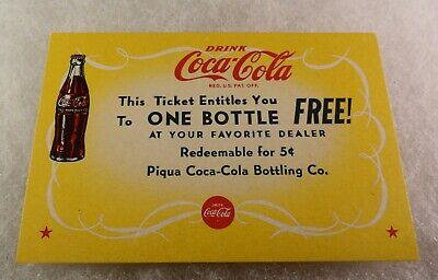 2-28-2005 Sonic Drive Inns exp Old FREE Diet Coke cardboard tokens TWO