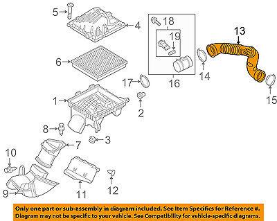 25783713 Genuine GM Duct Part#