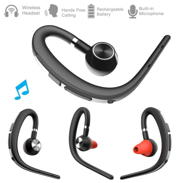1b944c2dc24 Bluetooth Headset Earphone HD Sound Ear Hook Earbud for Apple iPhone 8 Plus  7 6 for sale online | eBay