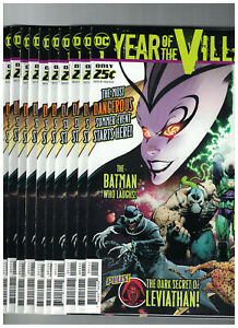 DC-039-s-Year-of-The-Villain-1-Greg-Capullo-x10-Comic-Lot