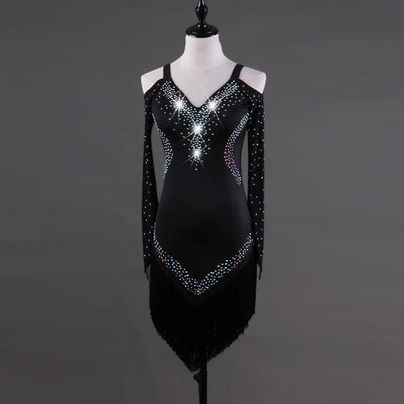 NEU NEU NEU Latino salsa Kleid TanzKleid LatinaKleid Latein Kleid Turnierkleid FM303 | Feine Verarbeitung  | Moderne und elegante Mode  | Erlesene Materialien  5a0553