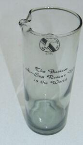 Coast-Guard-Naval-Air-Station-Miami-1973-Busiest-Rescue-Glass-Pitcher-Weird-DJ