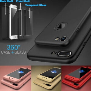 HYBRID-360-SHOCKPROOF-SILICONE-TEMPERED-GLASS-COVER-FOR-APPLE-IPHONE-6S-7-PLUS