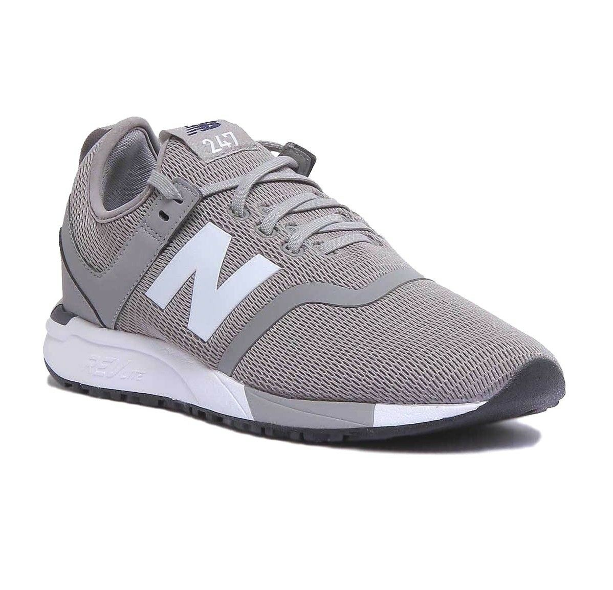 New Balance 247 Grey White Lifestyle Men's Trainers Running shoes MRL247DF