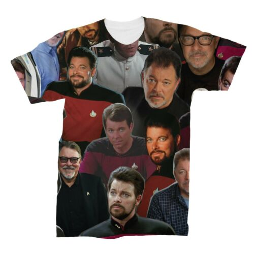 Jonathan Frakes Photo Collage T-Shirt