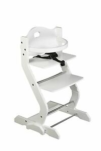 tissi hochstuhl inkl gurt b gel und tisch buche wei 8438562617701 ebay. Black Bedroom Furniture Sets. Home Design Ideas