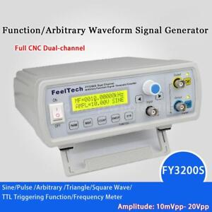 FY3200S-24MHz-Digital-DDS-2-Channel-Arbitrary-Function-Signal-Generator-Meter