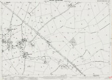 S Glinton /& Peakirk 1900 Northants OS map 3-10-1900