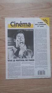 Revista-Semanal-Cinema-Semana-de-La-24A-30-Junio-1987-N-404-Buen-Estado