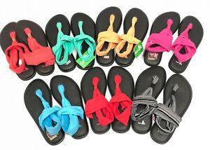 Sanuk-Women-039-s-Yoga-Sling-2-SWS10001-Casual-Flip-Flop-Sandal-Yoga-Mat-Shoes