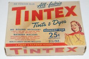 Vintage-Tintex-All-Fabric-Tints-amp-Dyes-Original-Packaging