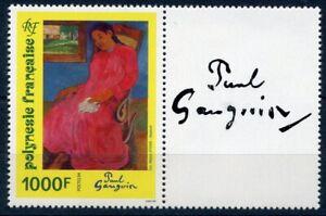 franz-Polynesien-MiNr-662-postfrisch-MNH-Paul-Gauguin-O5342