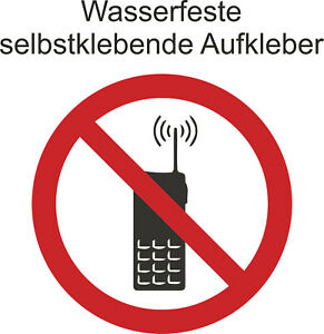 Hinweis-Verbot-s-Aufkleber-Handy-Telefon-verboten-Sticker-ab-5cm-Uv-fest