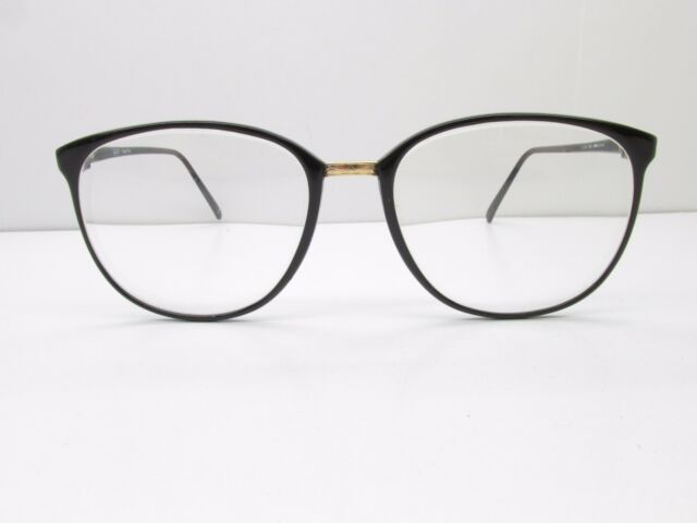 GANT G 361 Tradition Eyeglasses Frames 54-18-140 Black Gold Round ...