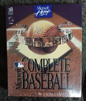 Microsoft Home Complete Baseball Pc Cd-rom Sealed -1994-