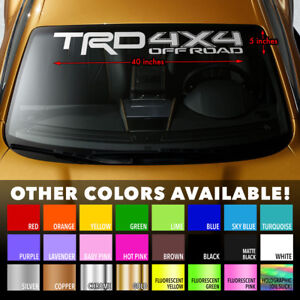 Windshield-Banner-Decal-Sticker-for-TRD-OFFROAD-4RUNNER-TACOMA-TUNDRA-TOYOTA