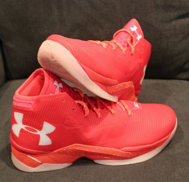 Under Armour Curry 2.5 Rocket Red/white