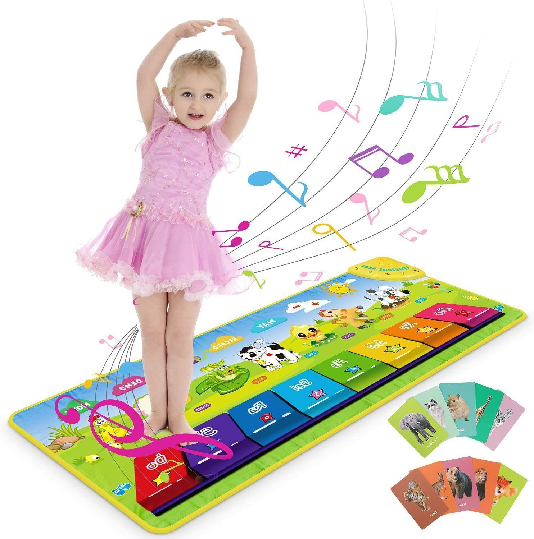 ENVIO DESDE ESPAÑA- Alfombra de Juegos Juguete Musical Piano bebés 100 x...