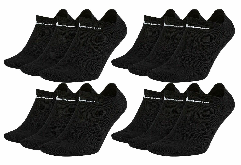 Nike Everyday Sneaker Socken 12 Paar Weiß Grau Schwarz Unisex Füßling SX7678