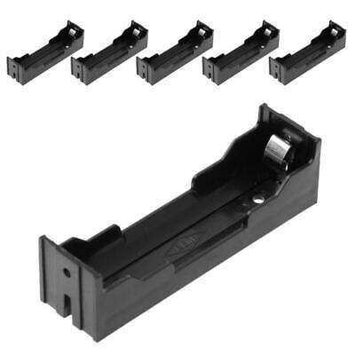5Pcs DIY ABS Storage Box 2-Pin Holder Case For 1x Li-ion 18650 3.7V Battery