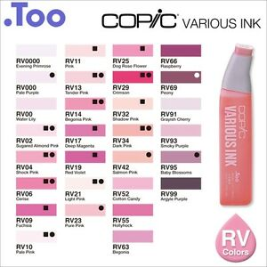 Copic-Various-Ink-034-RV-Red-Violet-Color-Series-034-Refill-for-Too-Sketch-and-Ciao