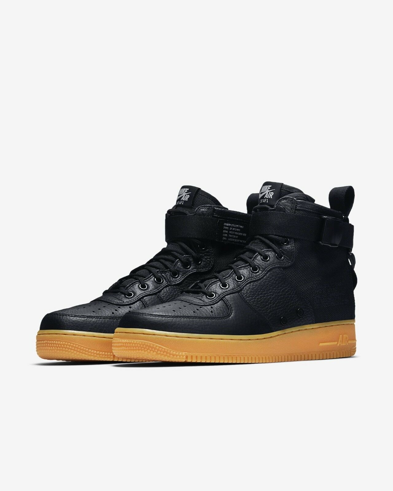 NIKE SF AF1 MID Taille9 Taille9 Taille9 AIR Obliger 1 noir GUM 2e9c11
