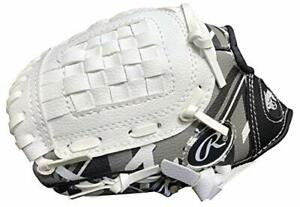 Rawlings Remix Series Youth Tball/Baseball Glove Left Hand Throw Black/White/...
