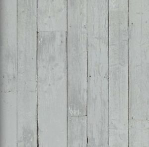 Vlies tapete antik holz rustikal verwittert grau bretter vergraut royal wood 8710339497960 ebay - Tapete rustikal ...