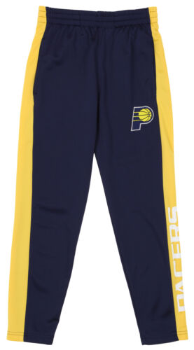 OuterStuff NBA Youth Boys Side Stripe Slim Fit Performance Pant Indiana Pacers