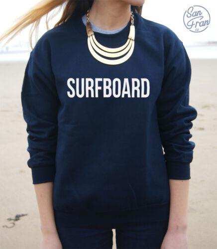 * per tavole da surf Maglione Pullover Felpa impeccabile DRUNK IN LOVE *