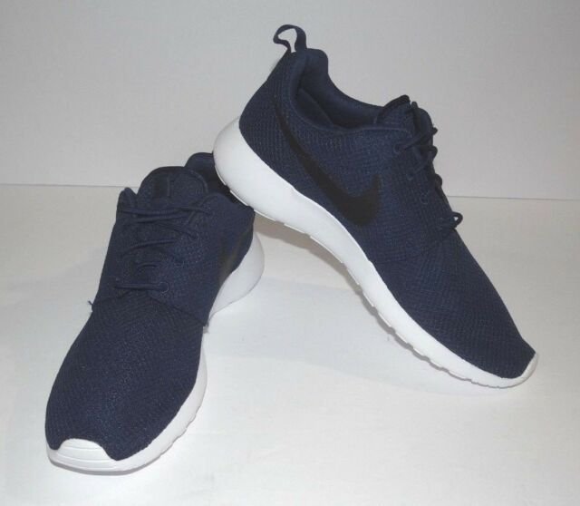 be056649a Nike Roshe One Sz 9.5 Midnight Navy Black White 511881 405 for sale ...