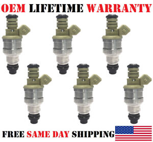 XF2E-C4B 6Pcs OEM Siemens Fuel Injectors for \99-2003\ Ford Windstar 3.8L V6