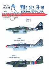 EagleCals Decals 1/32 MESSERSCHMITT Me-262A-1 RG(J)54 EJG2 & JG7