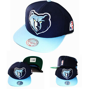 big sale 2497d 92912 Image is loading Mitchell-amp-Ness-NBA-Memphis-Grizzlies-Snapback-Hat-