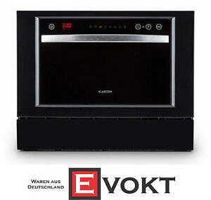 Klarstein-Amazonia-6-Luminance-Table-Dishwasher-A-1380W-Black-Genuine-NEW