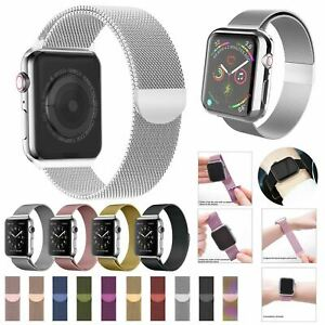 Band-For-Apple-Watch-Milannese-Loop-Stainless-Steel-Strap