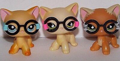 2 Bag Littlest Petshop Lot 30 Accessories Clothes Skirt Glasses Pet Shop Food