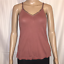 Aerie-Tank-Top-Size-Small-Bling-V-Neck-Maroon thumbnail 1