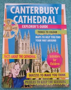 Canterbury-Cathedral-Children-039-s-Explorers-Guide-History-Fun-Learning-Quizzes