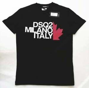 BNWT Dsquared Gold Printed T-shirts white and Black DSQ t-shirts,