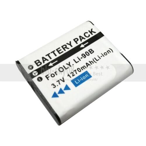 BATTERY 1270mAH Or LED USB Charger for Olympus Tough TG-1 TG-2 TG-3 TG-6 TG-5