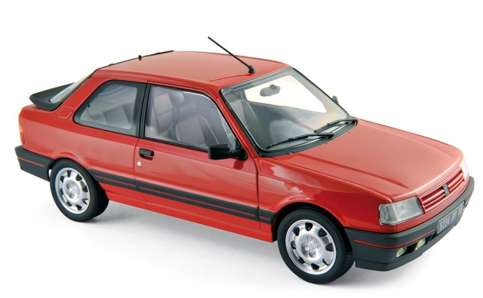 Peugeot 309 GTI 1987 rot 1 18 Norev 184880 184880 184880 neu & OVP  | Ausgezeichnete Leistung  d4b8e1