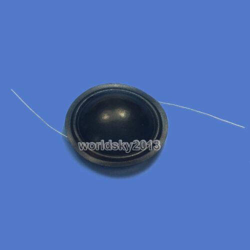 2pcs 28mm Speaker Tweeter Voice Coil Tweeter Silk Sound Film Diaphragm Repair